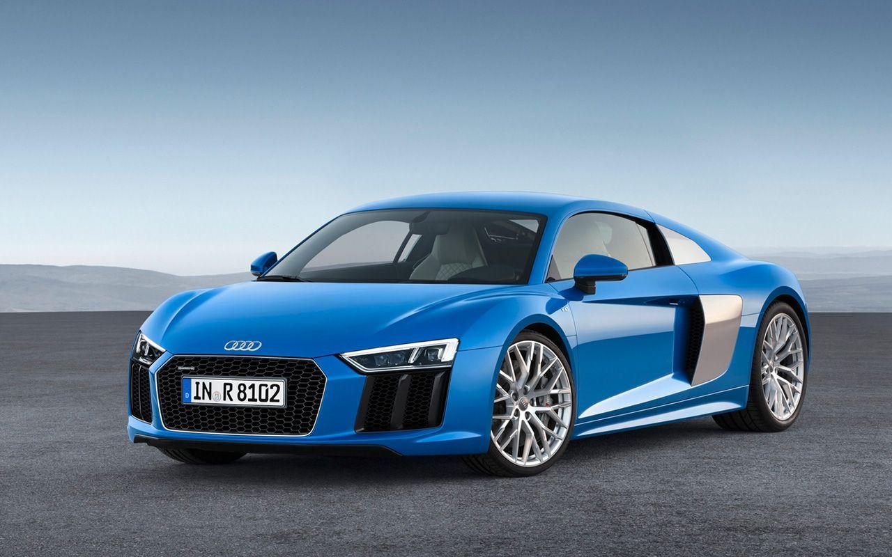 2016 Audi R8 Blue Static 5 1280x800 Wallpaper Audi R8 V10 Audi R8 Audi Cars