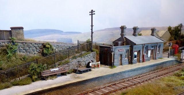 Penhydd (EM gauge layout) by Geoff Forster   Model Railway scenery ...