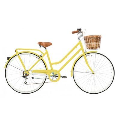 Ray White Yellow Bike Size 26 Womens Bike Bicycle Vintage Bike