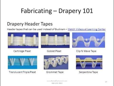 Drapery 101 How To Fabricate Drapery Panels Ripplefold