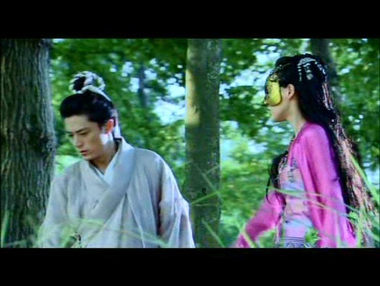 Tang Yan Wallace Huo Kissing Scene Chinese Paladin 3 Kissing