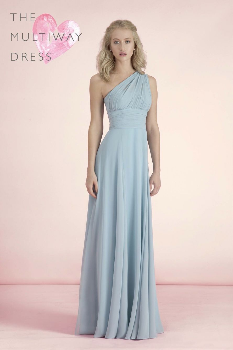 Pink multiway bridesmaid dress  The Kelsey Rose multiway bridesmaid dress Available in a range of