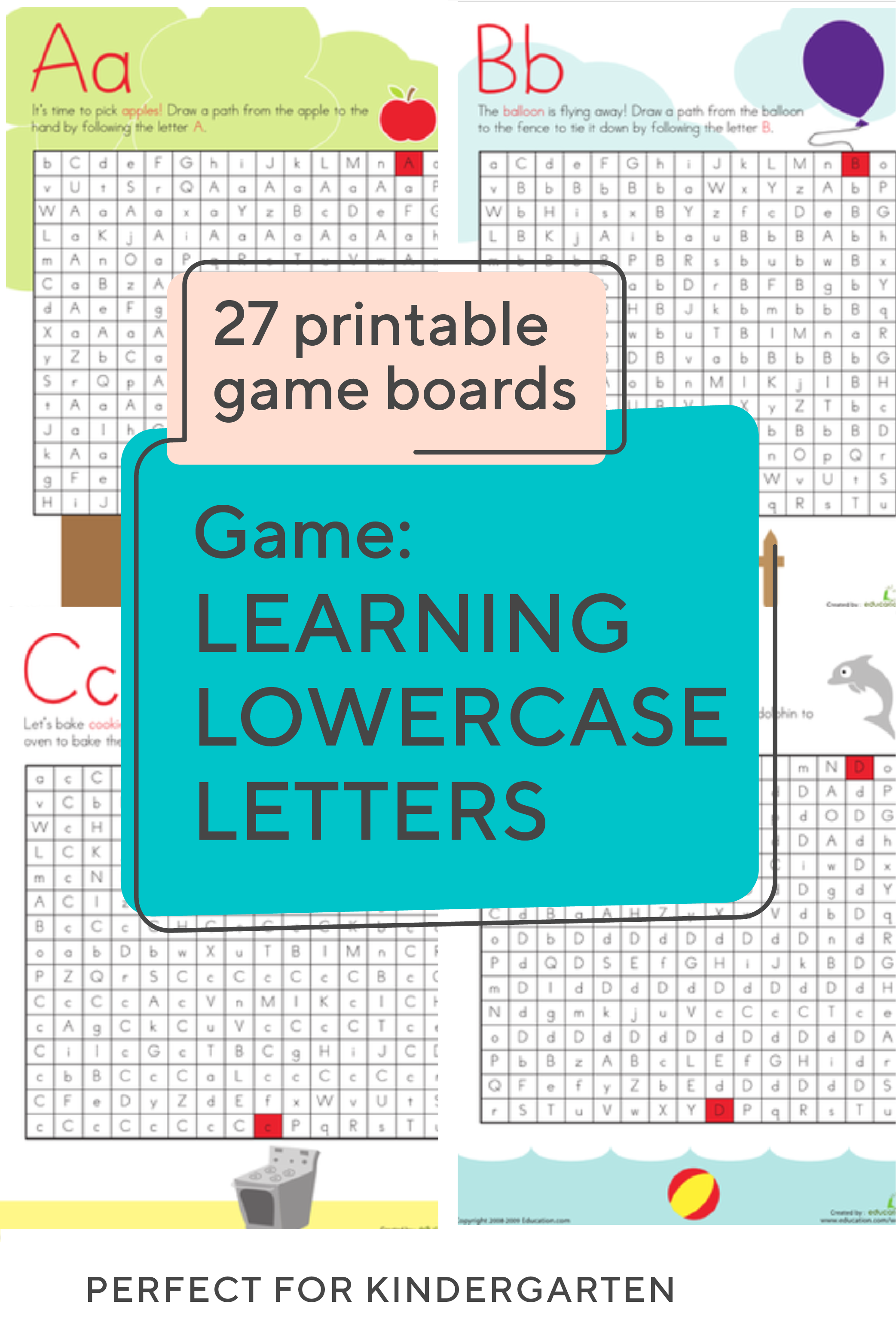 Try These Free Printable Letter Mazes To Help Your Little Learners Recognize And Name Capital