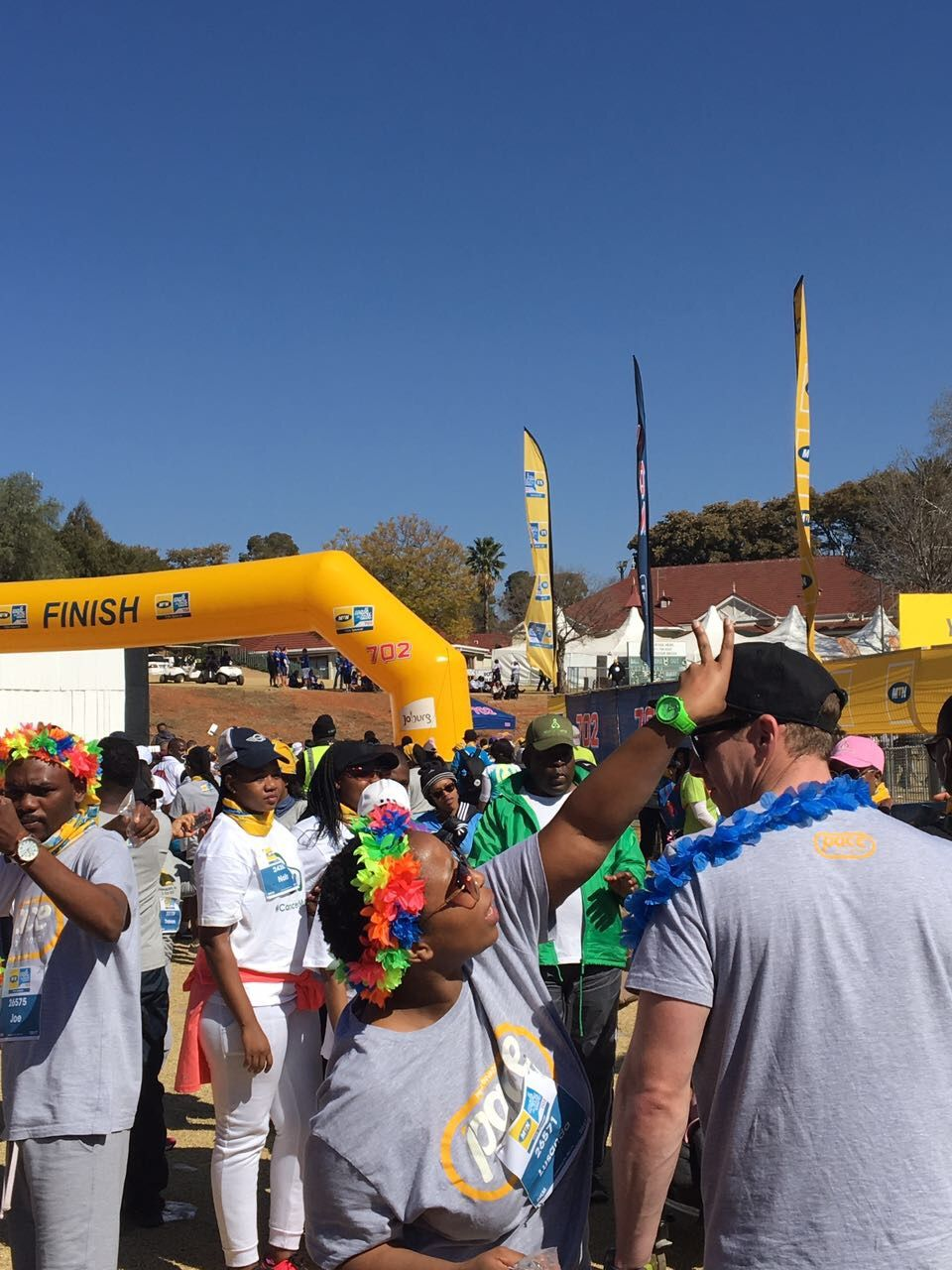 Pace Car Rental Employees doing the MTN702Walk. Awesome