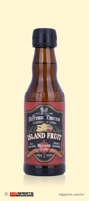 Havana Club The Bitter Truth Essence of Cuba ISLAND FRUIT 25% 0,2 l BIGSPIRITS-Bottle #cubaisland