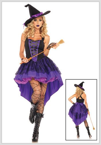 Write slogan, get reply, get Halloween witch costume absolutely ...