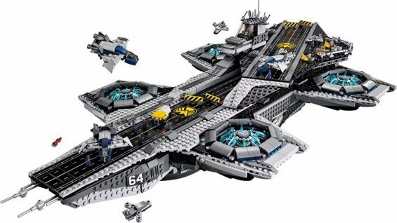 "Heat Vision on Twitter 20150129: ""Lego Announces Massive SHIELD Helicarrier Model"" http://www.hollywoodreporter.com/heat-vision/lego-announces-massive-shield-helicarrier-768233"