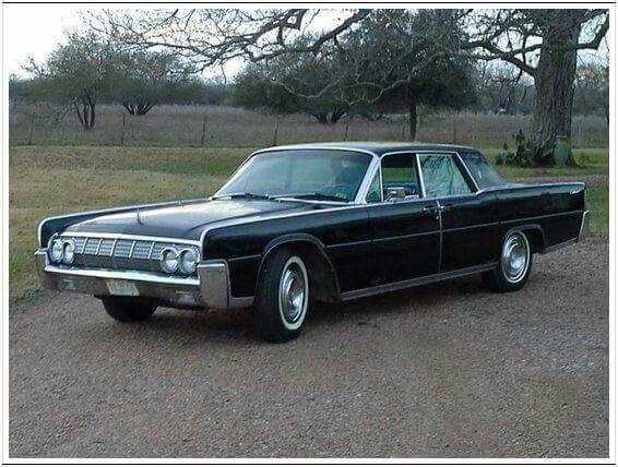 1964 Lincoln Continental 4 Door With Suicide Doors My Favorite