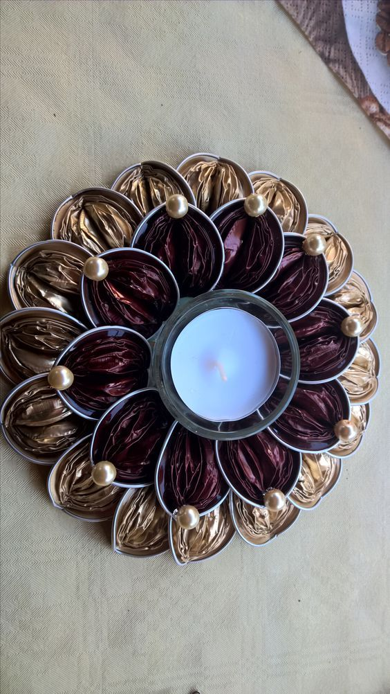 pingl par nicole sur nespresso cups nespresso kerst knutselen et knutselen. Black Bedroom Furniture Sets. Home Design Ideas
