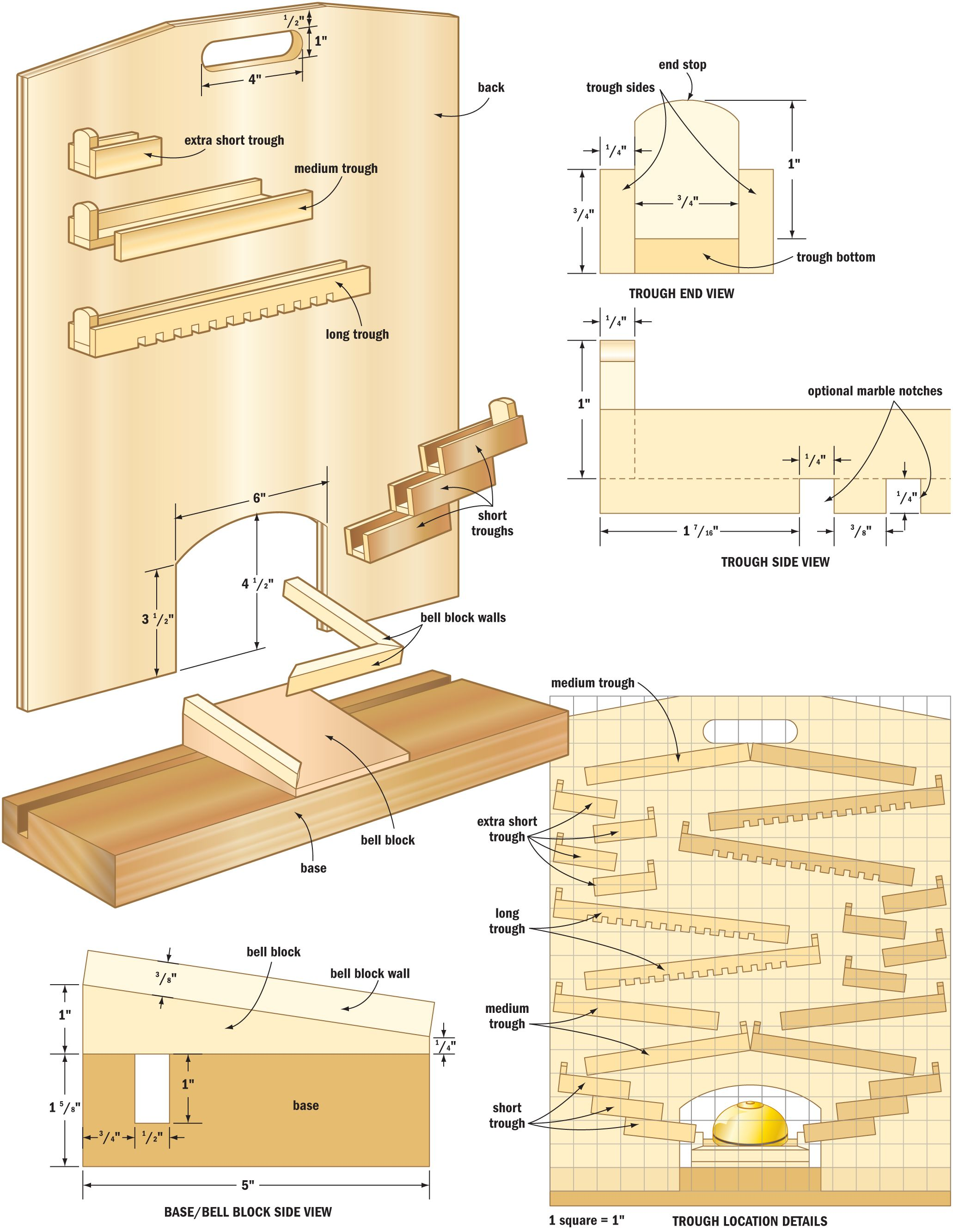 how to make wooden games