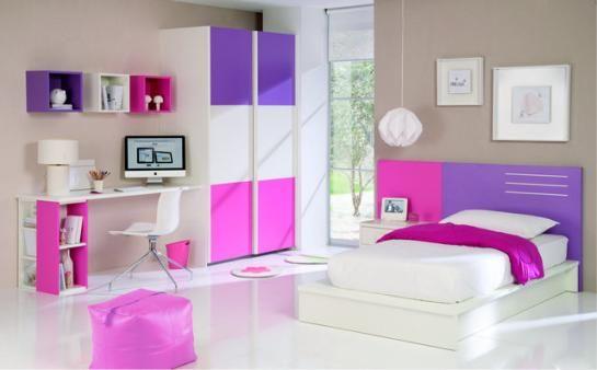 Estilo moderno deco dormitorios girls room pinterest cuartos recamara y cuarto ni a - Lila madchenzimmer ...