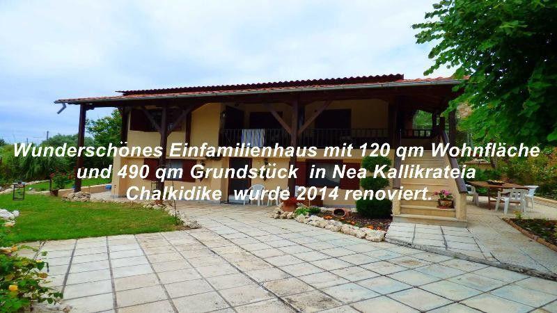 WundersWunderschönes Einfamilienhaus mit 120 qm Wohnfläche