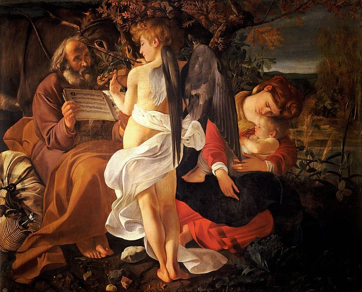 Rest on the flight into Egypt - Caravaggio
