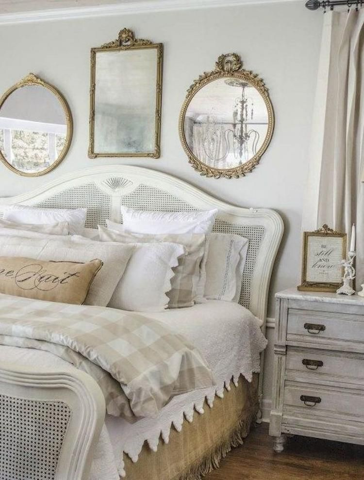 50 Modern Farmhouse Master Bedroom Ideas French Country Decorating Bedroom Shabby Chic Decor Bedroom Country Bedroom Decor