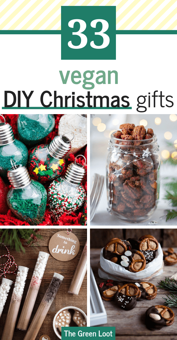 33 Brilliant Diy Edible Christmas Gift Ideas Vegan Friendly Edible Christmas Gifts Vegan Christmas Gifts Christmas Diy Food