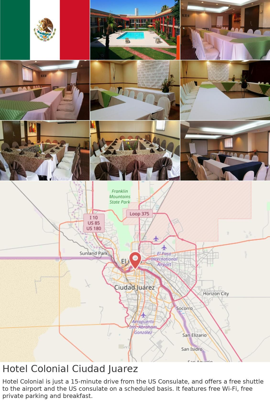 Hotel Colonial Ciudad Juarez Colonial Mountain States City