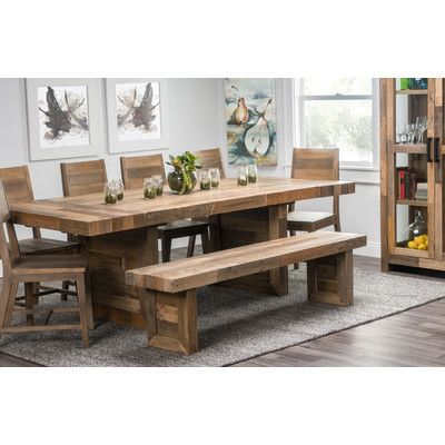 Loon Peak Needham 95 Extendable Dining Table