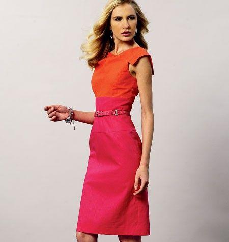 Vogue 8872 jurk | Bestelpatronen | Pinterest