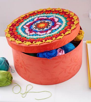 Runde für Runde entspannen und beim Häkeln neue Muster entdecken ...