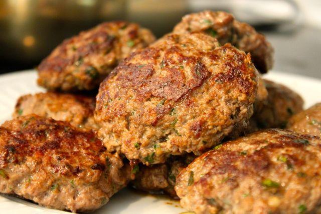 Moroccan Burgers and Beet Salad