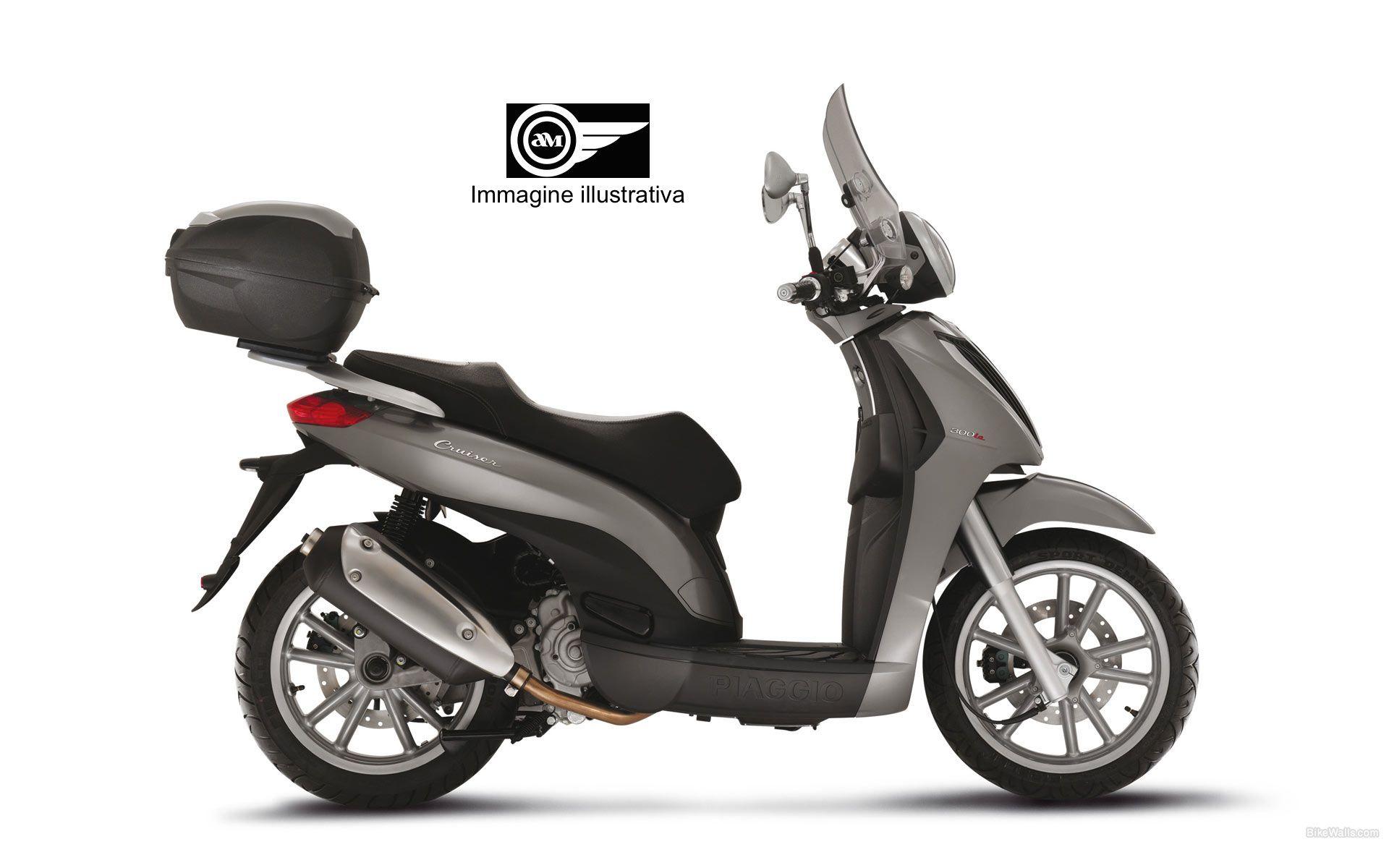 piaggio-carnaby-cruiser-300-6   AM Noleggio scooter   Pinterest ...