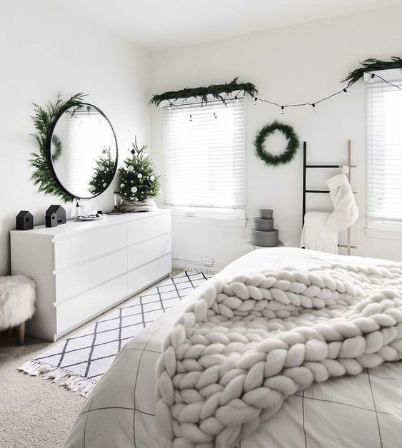 Photo of 8 minimal bedrooms for a relaxing holiday season (Daily Dream Decor)