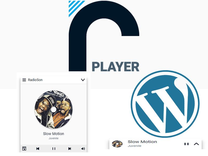 rPlayer – Radio Player for WordPress, supported unlimited
