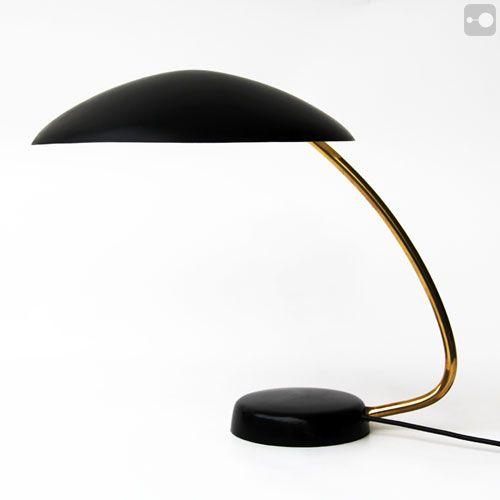 Retro Desk Lamp Vintage German Lamp 1950s Retro Desk Lamp Lamp Desk Lamp