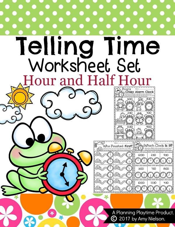 Unusual Ideas About First Grade Worksheets Telling Time O Clock And ...