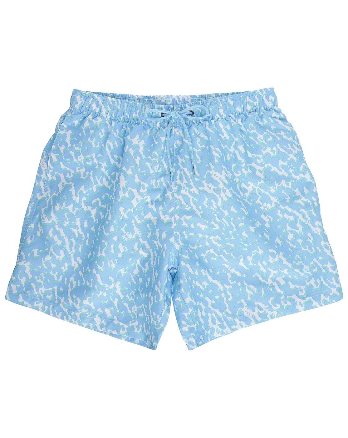 Short de Bain Coral Bleu