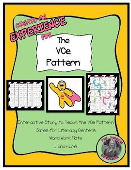 Experience The Vce Pattern Silent E Vce Words Silent E Phonics