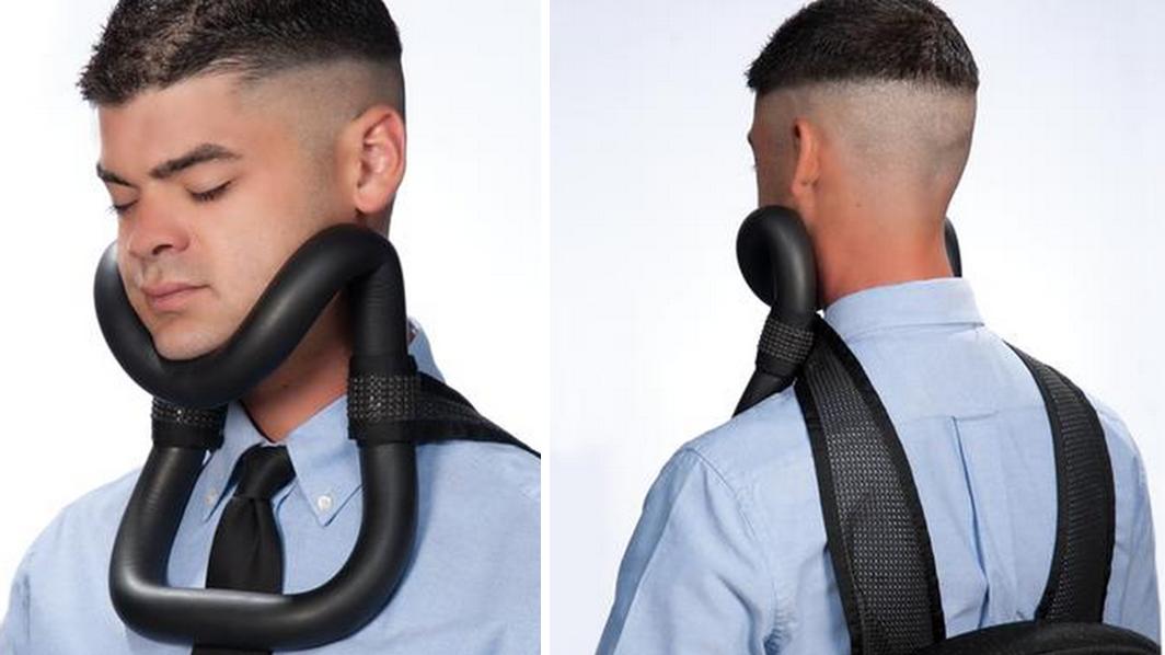 Upright Sleeper, un cuello ortopédico diseñado para mantener la ...