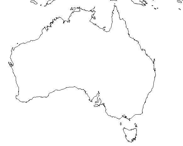 Young Australia Map.17 Blank Maps Of The United States And Other Countries Young