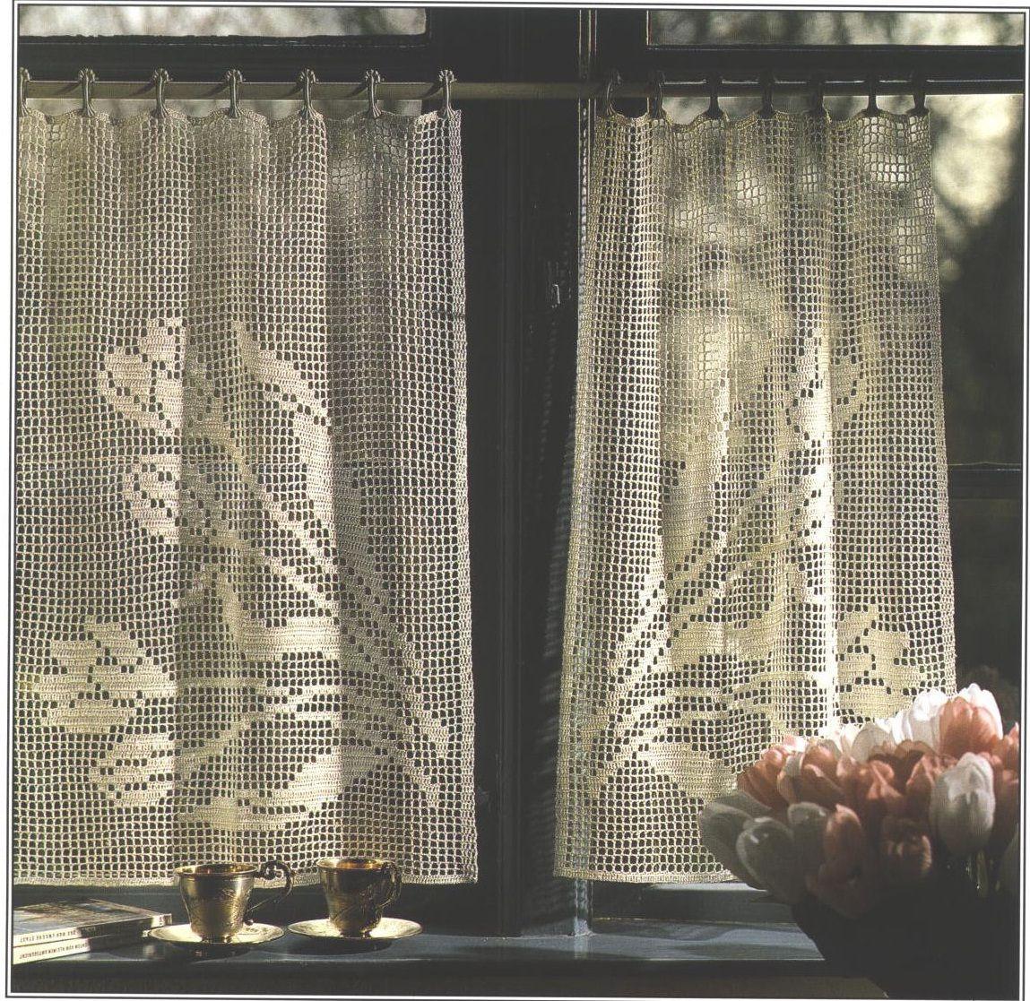 Loop Door Curtain Free Crochet Pattern Allfreecrochet Com