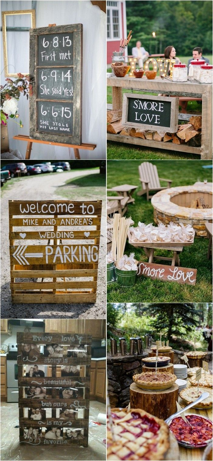 Wedding decorations country  Trending Country Rustic Farm Wedding Ideas for   wedding