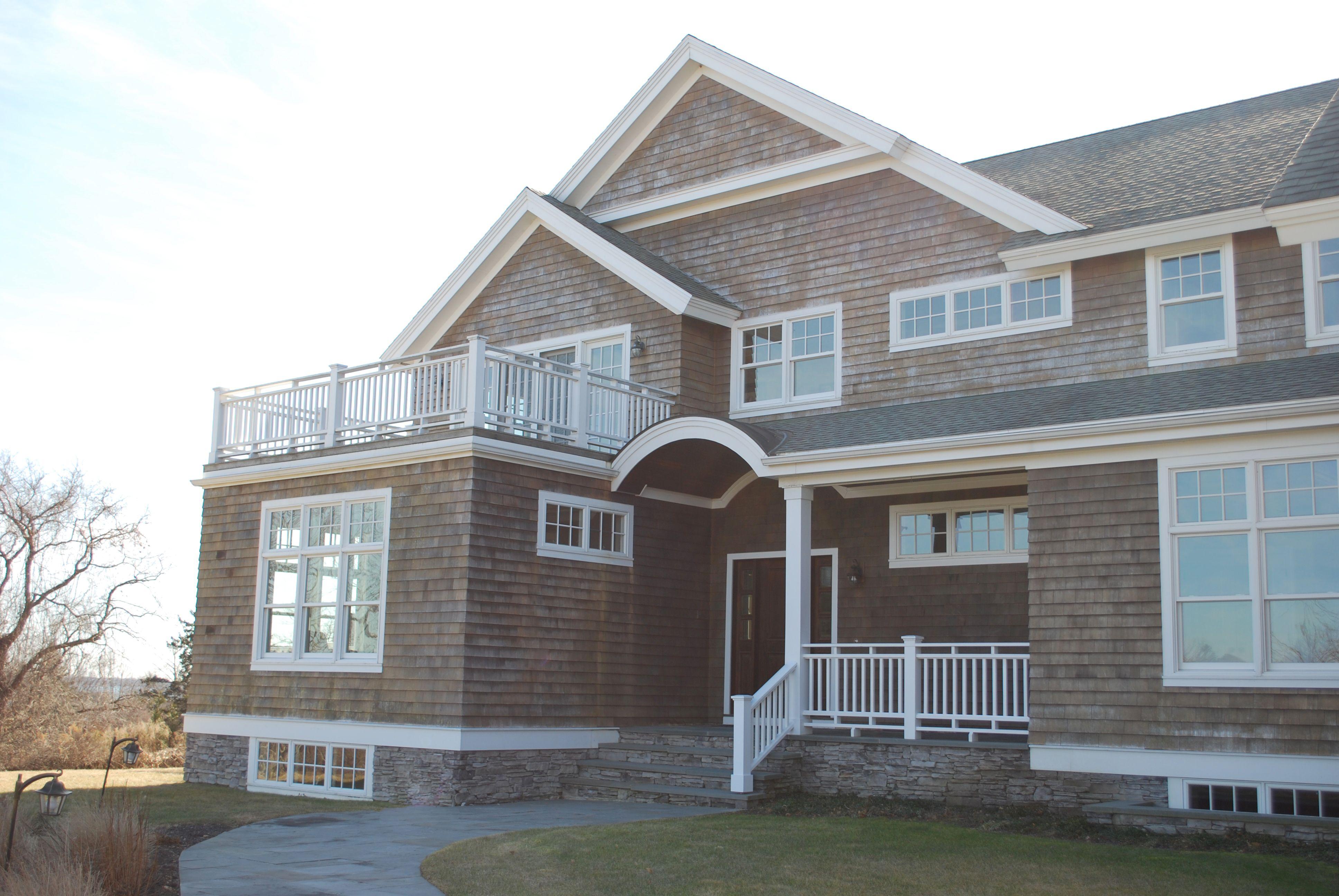 Shingle style waterfront home plans for Progressive farmer house plans