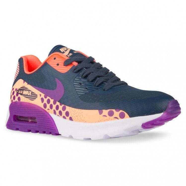 sale retailer f55a3 0be51 Nike AIR MAX 90 ULTRA BREATHE WOMENS Squadron Blue Purple Glow