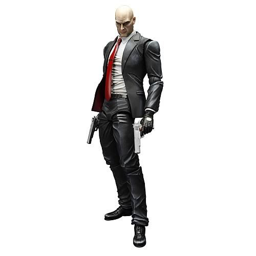 Hitman Absolution Agent 47 Play Arts Kai Action Figure - Square-Enix - Resident Evil - Action Figures at Entertainment Earth