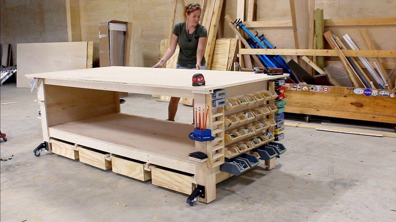 Ultimate Workbench + 10 Shop Storage Solutions 10 Shop