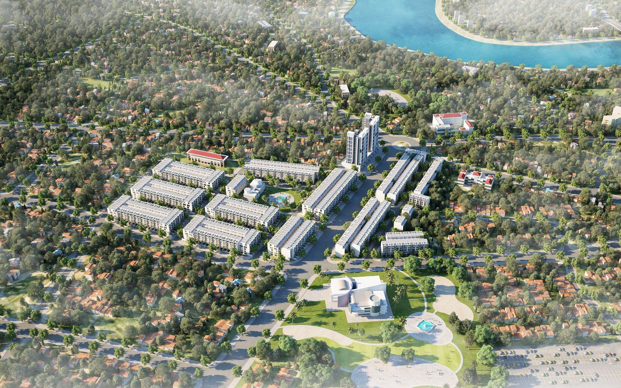 Khu đô thị mới Tân Tiến được xây dựng tại vị trí vàng của thị xã ...