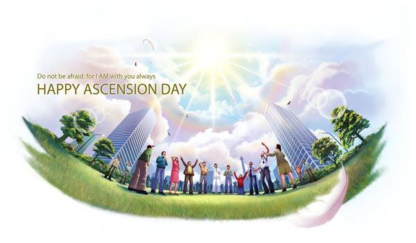 Happy Ascension Day Of Jesus Christ Greetings Sms Wishes Messages