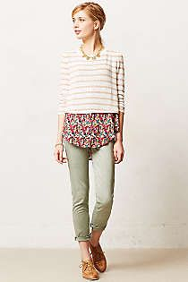 Anthropologie - Layered Ginny Pullover