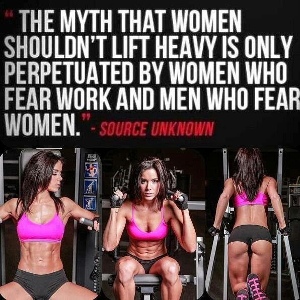 Training for Men and Women, Are a Myth?