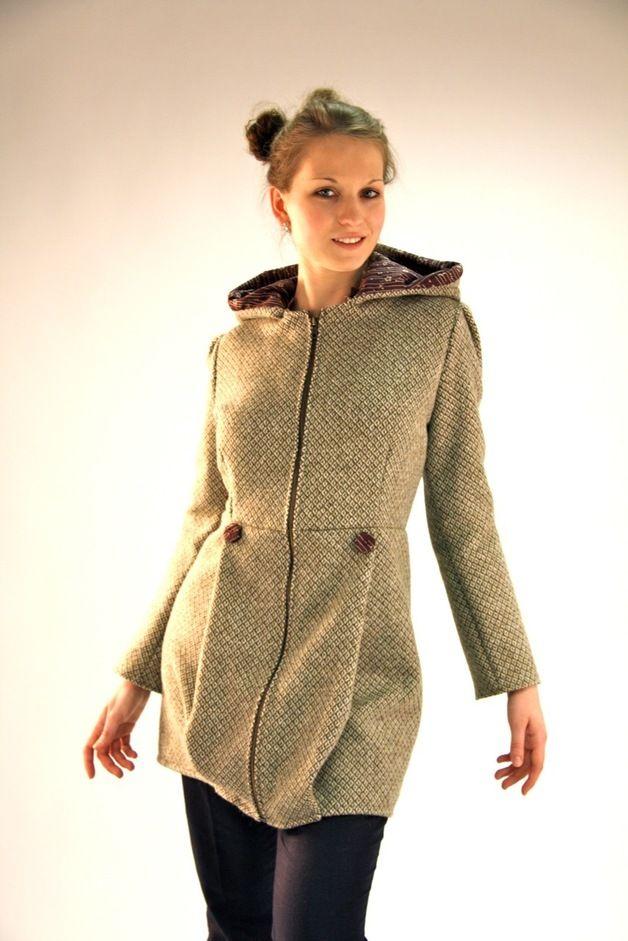 Mantel beige fruhling