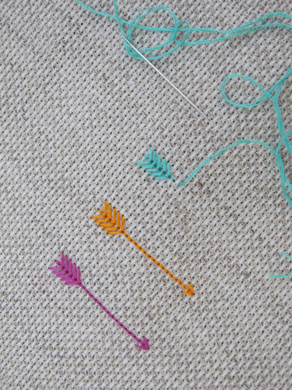this makes me want to stitch things! Embroidery ...