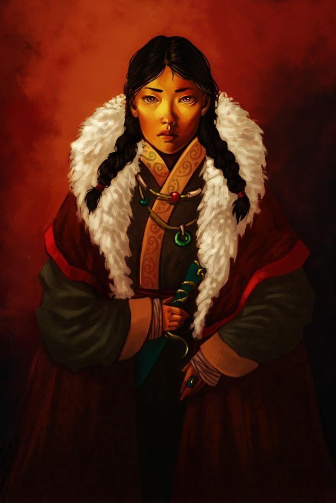 Mongolian princess by FluorineSpark on DeviantArt