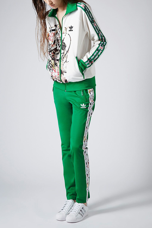 **Tracksuit Top by Topshop x adidas Originals - Jackets Coats - Clothing -  Topshop
