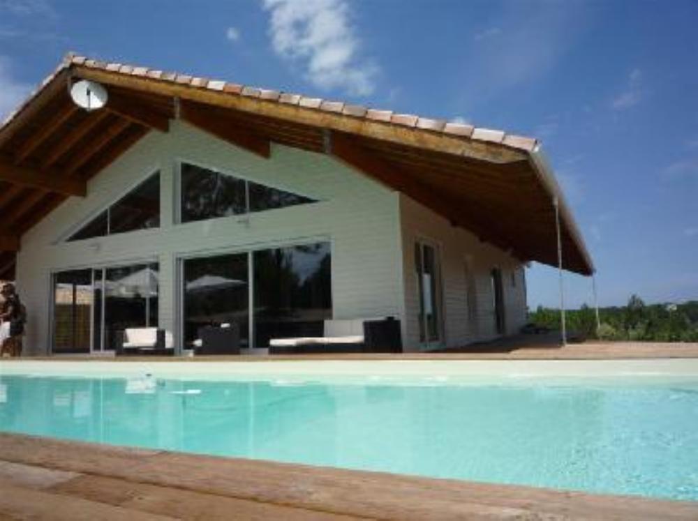 M6  Moliets-et-Maa, Villa de vacances avec 5 chambres pour 10 - Hotel Avec Jacuzzi Dans La Chambre