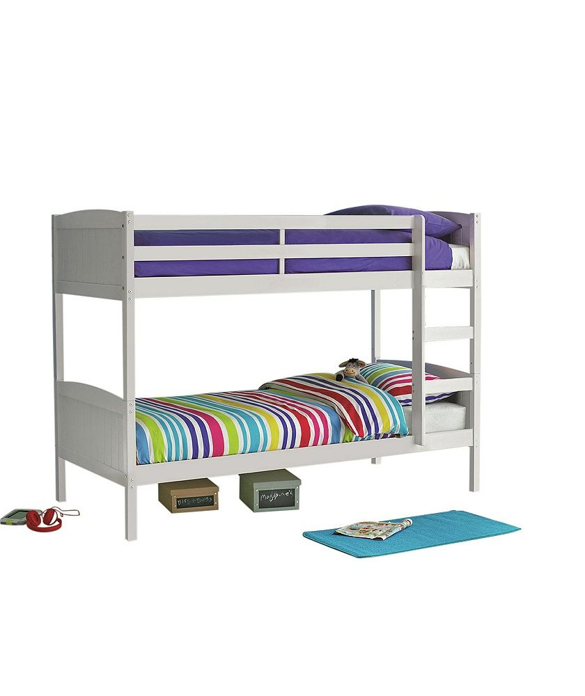 Buy Argos Home Detachable White Bunk Bed Frame Kids Beds White