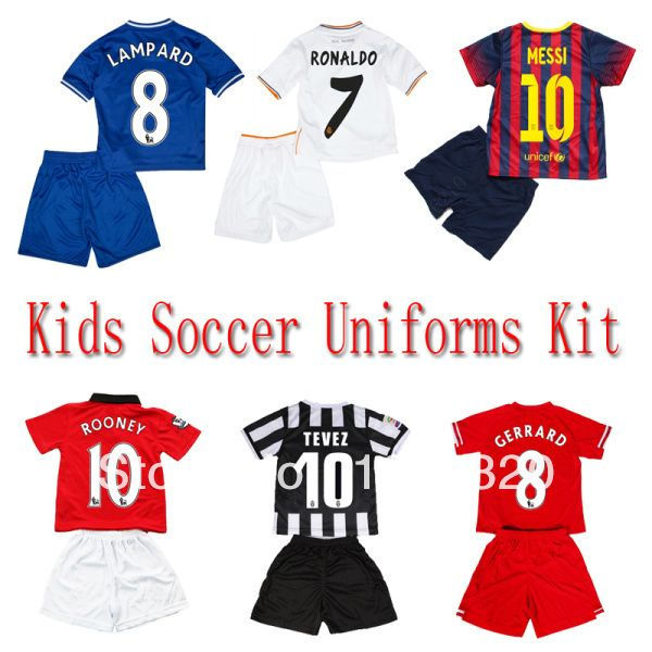 huge selection of 74f86 7671f Free shipping messi jersey kids real madrid ronaldo juventus ...